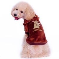 Free shipping ! pet products,dog clothes,The Pet coat,  Pet Supplies, velvet fabric, pet clothes