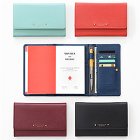 Stationery iconic 2015 exquisite leather wallet type diary punctuated , bookishness