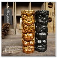 Hot Sale American Popular Fashion Bar Furnishing Articles Creative Ceramic Tiki Mug Hawaii Home Decoration Holiday Gift