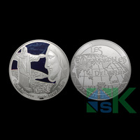 New design.christ redemptor coins 1oz 999 pure silver plated coin.40mm*3mm.40pcs/lot