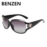 2015 Women Sunglasses Polarized  UV 400 Fashion Female Sun Glasses  Oculos De Sol Feminino  gafas De Sol With Case 6017
