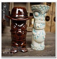 USA Popular Hat Trick Ceramic Cocktail Mug New Collection Bar Furnishing Articles Tiki Cup Hawaii Home Decoration Creative Cup