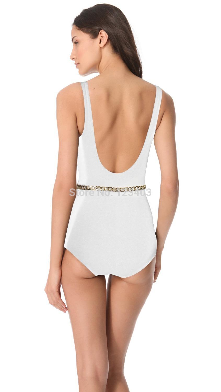 With Belt 2015 New Sporty One Piece Vintage Swimwear Bodysuit Push Up Swimsuit Set Monokini, Retro biquini High Quality(China (Mainland))