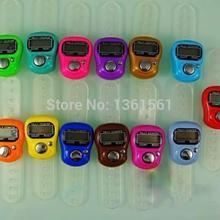 Envío gratis Cheapest colorido Mini 5-Digit LCD Golf dedo electrónico Digital de mano Held contador de la cuenta B634 0 uIw