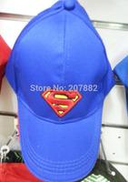 100pcs/Lot Free Shipping! Hot Sale Movie Character Super Man Visors Cartoon Kids Sun Hats Gift Toy A030 Wholesale