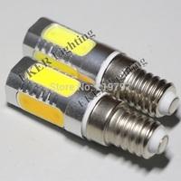 Retail ultra bright COB Corn bulb 5LEDs 7.5W candle light AC220V chandelier Led Bulbs Crystal lights Droplight + 4pcs+China post