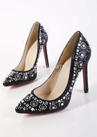 Змеевик заклинание цвета на высоких каблуках, размер: 35-44, женщина насосы на высоких каблуках