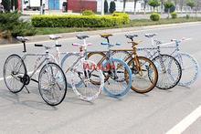 Free shipping colorful men women Fixed Gear Bikes MTB Christmas road bike bicycle specialized mountain bike(China (Mainland))