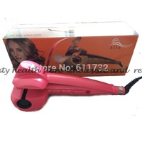 Free Shipping Bivolt styling tools steam spray magic hair curlers styler ,modelador de cachos-dropshipping