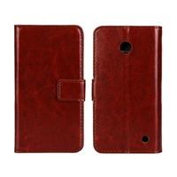 Newest Slim Flip PU Leather Phone Cover Case for Nokia Lumia 630, Case For Nokia Lumia 630 635  Mobile Phone Case
