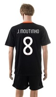 Free shipping-2014/15 Season #16 de Rossi Away jersey&short,Soccer team uniforms
