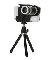 Universal 8x Mobile Phone Zoom Telescope Magnifier Camera Telephoto Lens With Tripod Holder For iphone Samsung HTC LG Sony Nokia