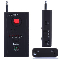 Wireless Radio Wave Signal and Camera Lens Detector Monitor Full-range CC308+ GPS Laser WiFi Bug RF GSM Device Finder