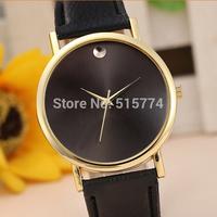 New Arrivals Leather Belt Fashion Women Men Dress Watches fashion watch wristwatches Free shipping