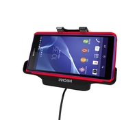 Free Shipping Specially designed Car Holder with Charger For Sony Xperia Z2 Cover-mate Car Mount Cradle, Car Holder with Charger