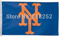 MLB St. New York Mets Flag 3x5 FT 150X90CM Banner 100D Polyester flag 1039, free shipping