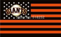 MLB San Francisco Giants US star stripe Flag 3x5 FT 150X90CM Banner 100D Polyester flag 1034, free shipping