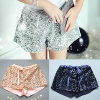 NEW ! 2015 Girls summer sequins shorts , girl's shorts, short kids girl , 5pcs/lot  FJP59