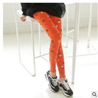 A751 Korean personality owl Leggings cotton pencil pants nine pants leg pants wholesale