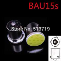 1X Xenon White 1156 BAU15S Car COB Auto LED bulbs RV Trailer Truck Interior Light Lamp DC 12v