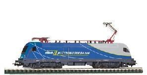 Germany PIKO model trains - the fifth generation of electric locomotive ES64 F4-092 (HO scale)(China (Mainland))