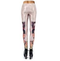 Womens Leggins 2014 Frida Kahlo 3D Printed Work Out Leggings Disco Pants Spandex