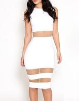 2014 New Fashion Women Party Dress Sexy Sleeveless O-Neck Casual Lady Dresses Free Shipping B4909 Eshow
