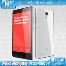 Xiaomi Redmi Note phone Original 5.5″HD 1080*720p  Octa core MTK6592 2GB Ram  13mp Camera Free shipping