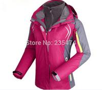 softshell jacket and snowboard 2- layer sport winter outdoor clothing outerwear warm waterproof ski jackets women coat