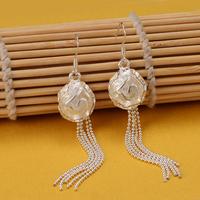 New Free Shipping 925 Silver Drop Earring,Fashion Sterling Silver Jewelry, Fashion Rose Earrings