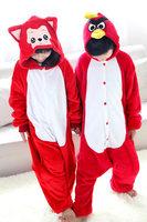 Free shipping Fox and birds animals Children Pyjama Cosplay Costumes Home sleepwears