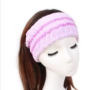 Microfiber Hairlace Cosmetic Headband Make up Wash Face Shower hairBand Sport Yoga Hairdo Hair Accessories
