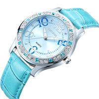 Ms SKONE Fashion Set auger Cortical Watch Fashion Table Quartz Watch Free Shipping