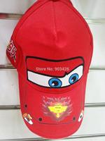 Free Shipping!100pcs/Lot !Popular Character Cars Baseball Caps Cartoon Children Visors Sun Hat for Gift Toy G032 Wholesale