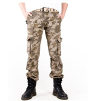 Waterproof SoftShell Camouflage Pants Outdoors casual Army Shark Skin Men's Sports Thermal Military Camo Hunting Fleece Trousers