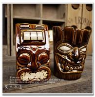 Hot Sales American Popular Ceramic Cocktail Mug Crazy Jack Collection Bar Furnishing Articles Tiki Cup Hawaii Home Decoration