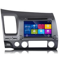 "Eonon D5172  8"" Double Din Car DVD GPS Stereo Radio for Honda Civic (2006 2007 2008 2009)"