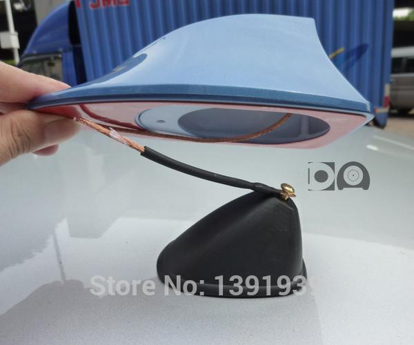 Newest disign shark fin antenna special car radio aerials shark fin auto antenna signal for Honda Jazz 2002-2015(China (Mainland))