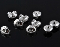 Free shipping!  Ear stud back, The best hot sales earrings back Earring Findings Wholesales