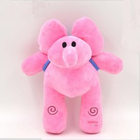 30cm Pocoyo Friends Elly Elephant Soft Plush Stuffed Baby Toys Doll Pocoyo Kids Birthday Christmas Gift Free Shipping