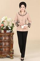2014 40 - 50 autumn outerwear long-sleeve plus size women's quinquagenarian autumn outerwear thin top