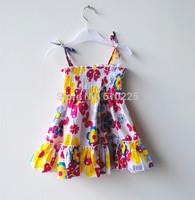 New 2014 Children Summer Clothes Girls' Dresses Baby Girl Dress Flower Casual Dress Kids Summer Dresses