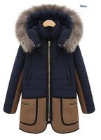 Maternity thick coat 2014 Winter pregnant women thick Plush coat large pockets maternity coat Plus size loose pregnant jacket