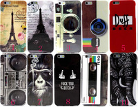"""50PCS/Lot  Cool Sleeping Owl Loverly  TPU Case Soft Phone Case for Apple iPhone 6G Plus 5.5"""""""
