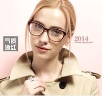 fashion women full-rim eyeglasses frame for woman Tr-90 most popular 2014 optical frame glasses  5863