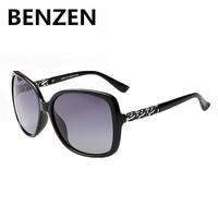 2015 Sunglasses Women Polarized  Oculos De Sol Feminino  Gafas De Sol Vintage  Grid Design Sun Glasses Female With Case 6018