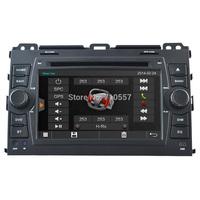 Capactive Touch Screen Car DVD GPS TOYOTA Toyota Land Cruiser 120 Series Prado 2002 - 2009 Sat Head Unit Navi Radio