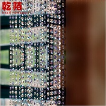 Free shipping1meter Crystal Clear Acrylic Bead Garland Chandelier Hanging Wedding Decoration(China (Mainland))