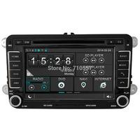 Capactive Touch Screen Car DVD GPS Navi Autoradio For VW SEAT SKODA TOURAN JETTA PASSAT B6 B7 EOS T5 Sat Head Unit Navi Radio