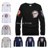 Brand Men T-shirts 2014 Autumn New Fashion Casual Cotton T-shirts Tees 4 Colors Asian Size M-4XL FS3224